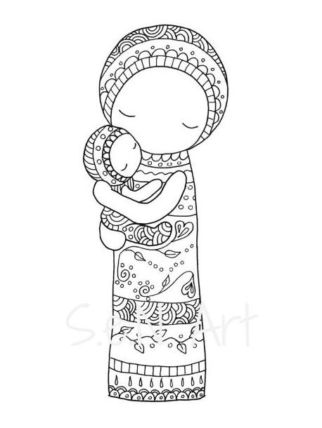 Obraz V matkinom náručí 3