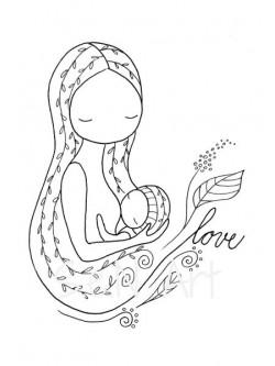 Obraz Dojčenie 1