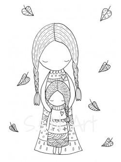 Obraz Mama a dcéra 2