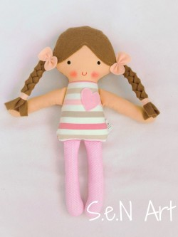 Látková bábika Jasmínka