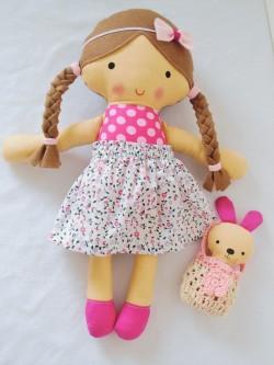 Veľká látková bábika Hanka